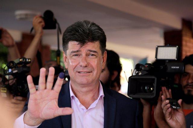 El opositor paraguayo Efraín Alegre