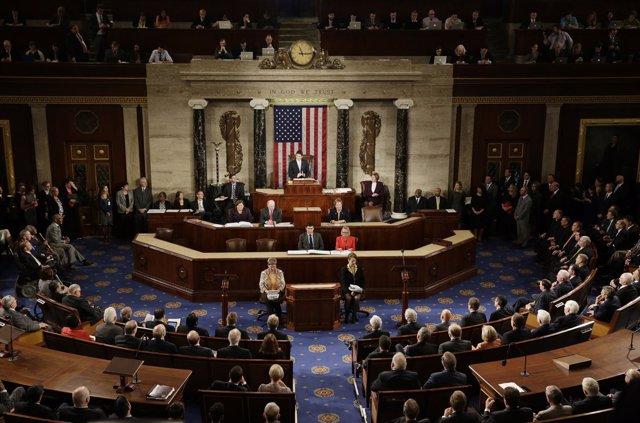 Capitol Hill In Washington