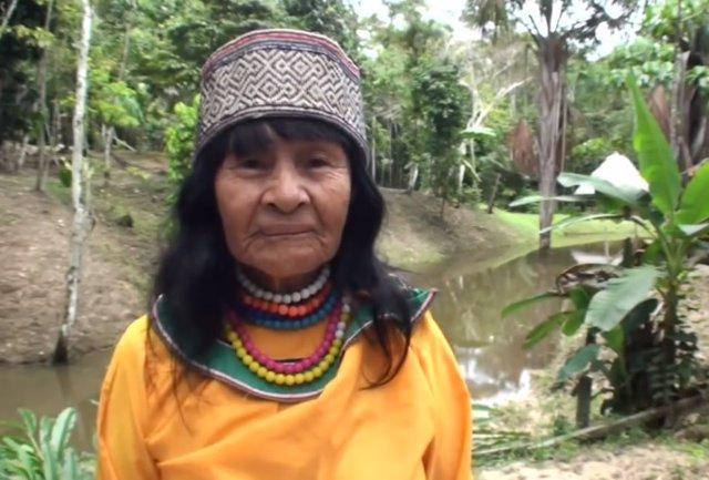 Líder etnia Shipibo-Konibo