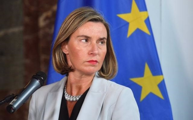 Mogherini dice que la conferencia de Siria 'puede contribuir a abrir un espacio' para una solución política