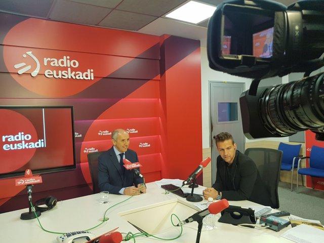 Entrevista a Josu Erkoreka, portavoz del Gobierno Vasco, en Radio Euskadi
