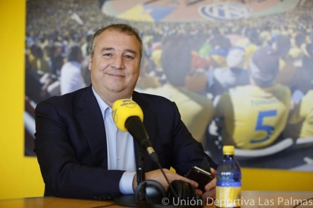 Miguel Ángel Ramírez, presidente de Las Palmas