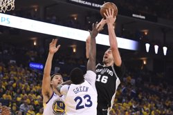 LOS WARRIORS ELIMINAN A LOS SPURS Y FINIQUITAN LA TEMPORADA DE PAU GASOL