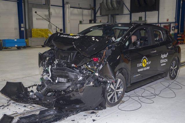 El nuevo Nissan Leaf, primer coche 100% eléctrico con 5 estrellas Euro NCAP