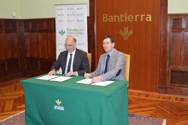 José Antonio Artigas, de Bantierra. Y Darío Sierra, del CPMZ
