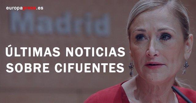 Cristina Cifuentes, últimas noticias