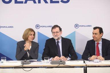 """Rajoy diu que era """"obligada"""" la dimissió de Cifuentes: """"A partir d'ara s'obre una nova etapa"""" (EUROPA PRESS - Archivo)"""