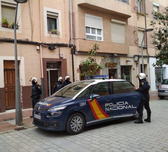Operación Policial en María Teresa Gil de Gárate