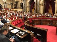 El Parlament convalida el decret del 155 perquè la Generalitat pugui endeutar-se (EUROPA PRESS)