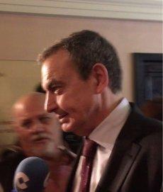 """Zapatero sobre Catalunya: """"No hi ha solució a cap conflicte polític fora del diàleg"""" (EUROPA PRESS)"""