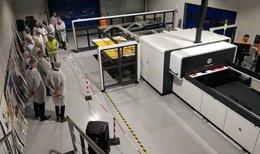 Saica instala en su sede de Barcelona la impresora HP Scitex 15500