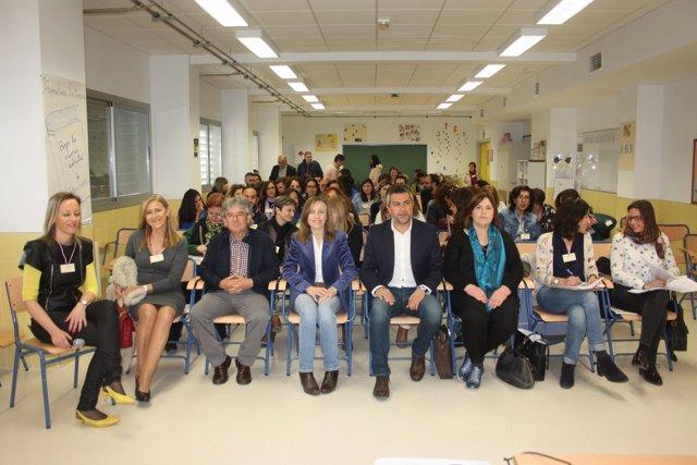 Participantes en la jornada sobre comunidades de aprendizaje