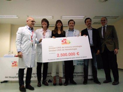 2,5 millones de euros para abrir la Unidad de Inmuno-Oncología en el Hospital 12 de Octubre