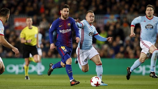 Messi en el Barcelona - Celta