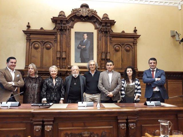 PREMIADOS PLENO DE HONORES Y DISTINCIONES DE GIJÓN