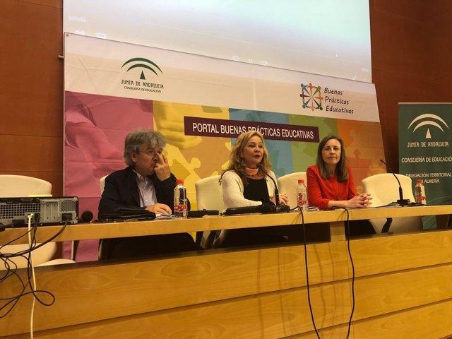 Calzada presenta el portal de 'Buenas Prácticas Educativas'