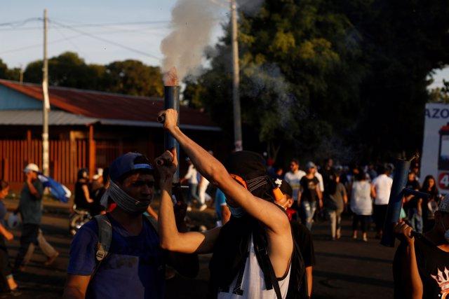 Movilizaciones en Managua