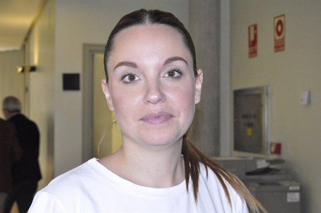 Maru Díaz, portavoz de Podemos