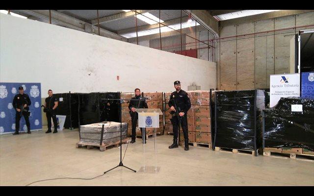 Un guardia civil, entre los 11 detenidos por el alijo de 8.740 kilos de cocaína en Algeciras