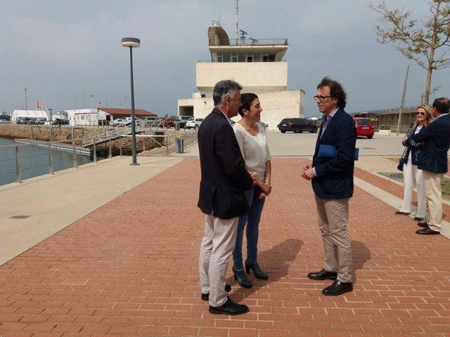 Visita de la directora de la APPA, Fernández-Bermejo, a Puerto América