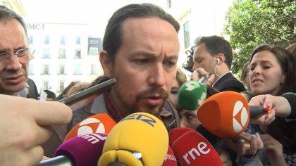 """Iglesias cree que el Gobierno ha aceptado subir las pensiones porque """"se le ha caído la cara de vergüenza"""""""