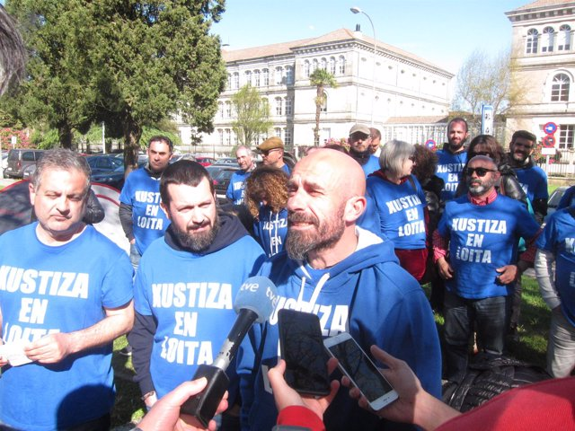 Declaraciones de sindicatos STAJ, CIG y Alternativas na Xustiza