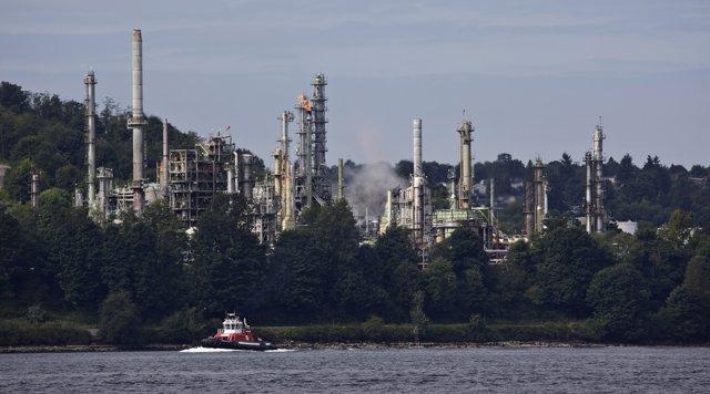 Refinería de Chevron en Canadá
