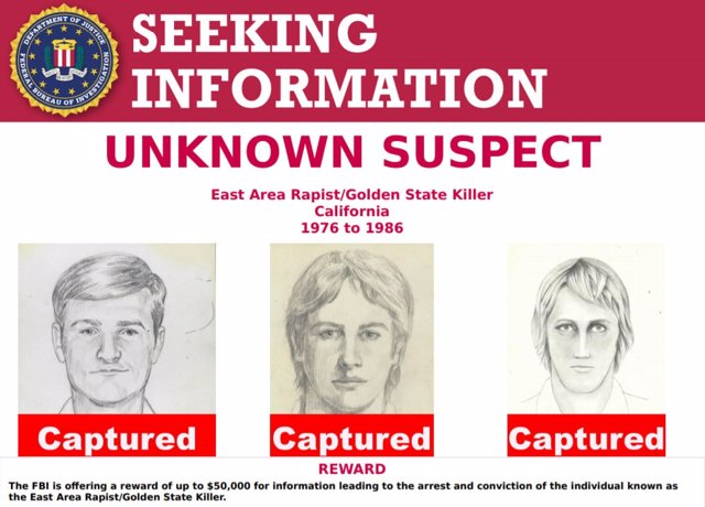 Golden State Killer, el asesino del Golden State