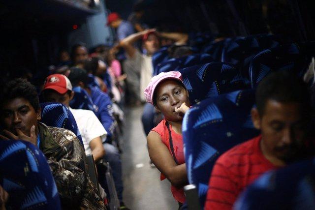 Caravana de inmigrantes centroamericanos