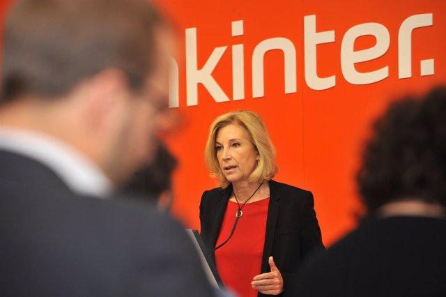 María Dolores Dancausa, CEO de Bankinter, presenta los resultados 1T