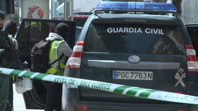 Detención por la Guardia Civil, imagen de archivo