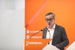 VILLEGAS (CS) DESCARTA UN GOBIERNO DE GABILONDO EN MADRID: SI EL PP PONE UN CANDIDATO LIMPIO, TENDRA NUESTRO APOYO
