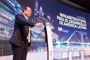 CAF propone mayor infraestructura de integración regional para lograr el salto en productividad