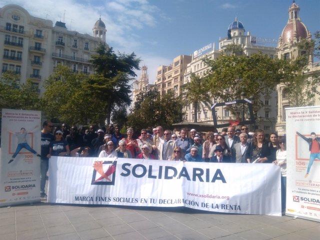 Campaña a favor de la X Solidaria