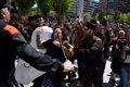 CONCENTRACION FRENTE AL PALACIO DE JUSTICIA EN PROTESTA POR LA SENTENCIA A LA MANADA