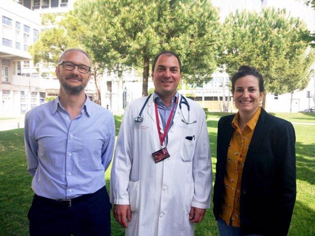 Francesc Viñals, Mariona Graupera y Antoni Riera-Mestre, del Idibell