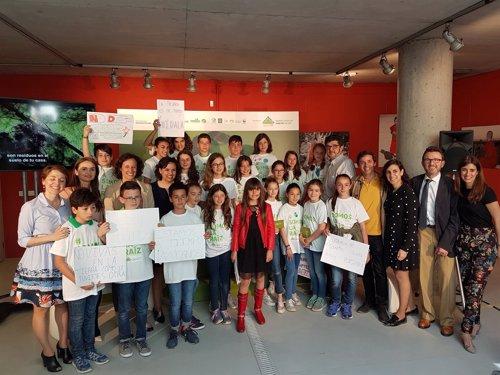 Niños por el medio ambiente 'Somos la Raíz'