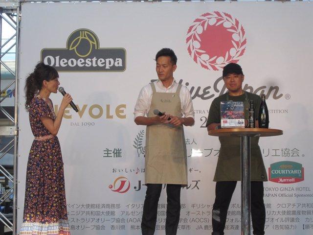 Entrega de premios Olive Japan 2018