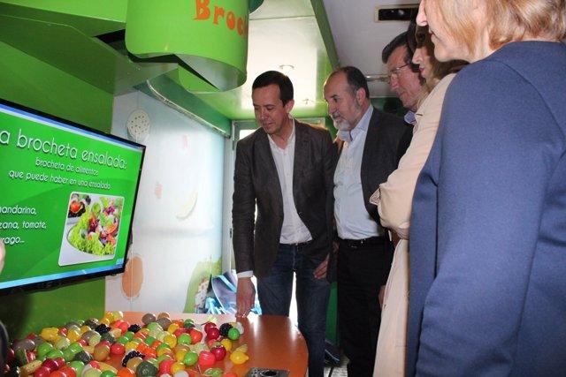 Visita al 'Frutibús'