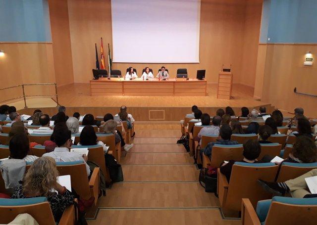 Inauguración de las III Jornada Andaluza de Medina Fetal