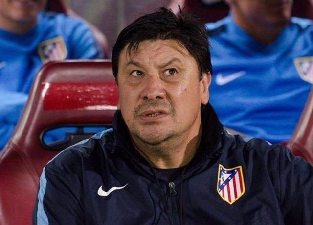 Germán Burgos, segundo entrenador del Atlético de Madrid