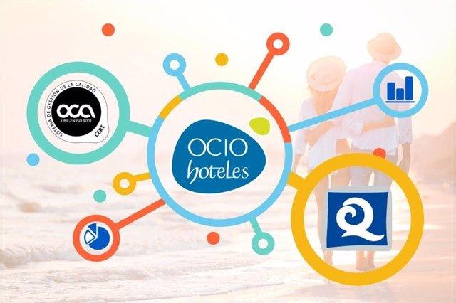 Ocio Hoteles recibe la Q de Calidad Turística como agencia de viajes