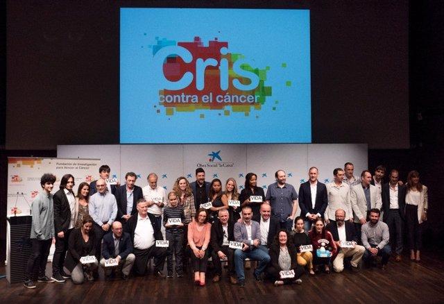 Quinta edición de los premios 'Juntos por la investigación', de Fundación CRIS