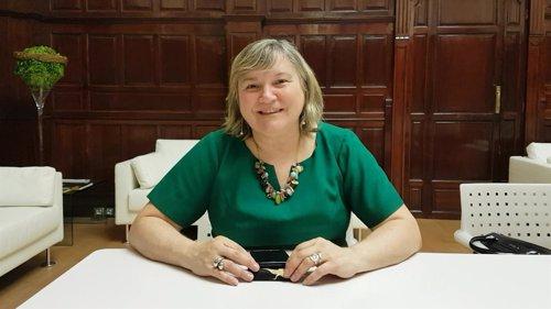 Directora de Programas ONU Mujeres María Noel Vaez