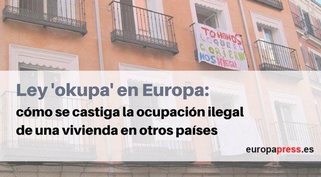 Ley 'okupa' en Europa