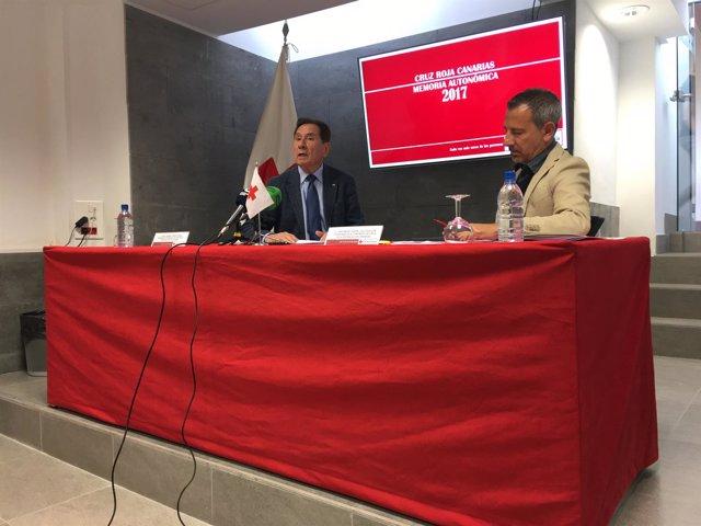 Presentación de la Memoria de actividad 2017 de Cruz Roja en Canarias