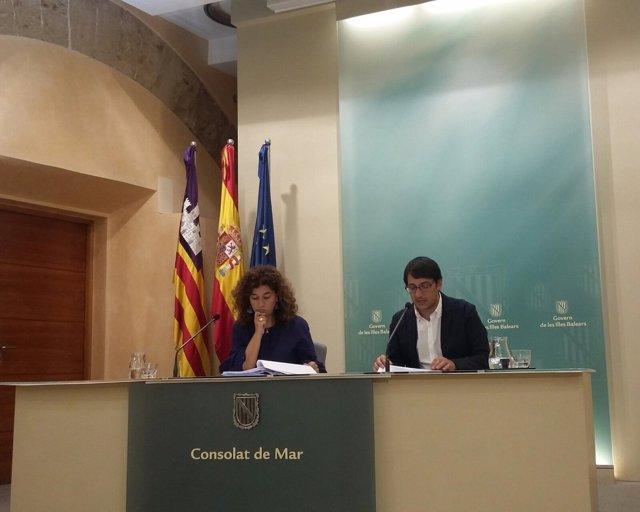 Negueruela y Costa en el Consell
