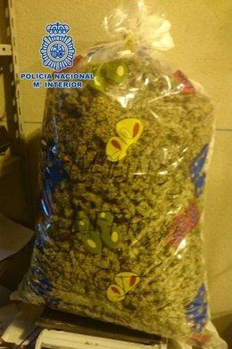 Marihuana incautada en dos operaciones antidroga