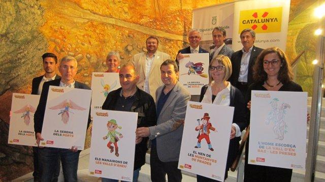 Presentación de la campaña Catalunya, Hola Familia.