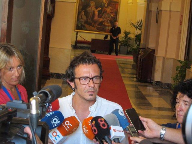 José María González 'Kichi', alcalde de Cádiz
